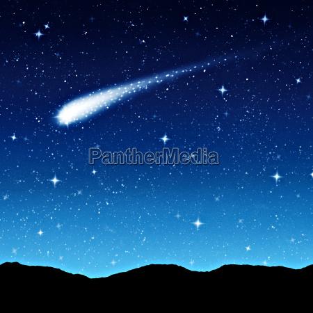 sternenhimmel bei nacht