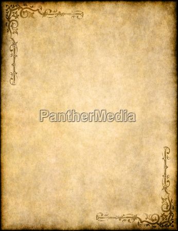 old parchment paper texture with