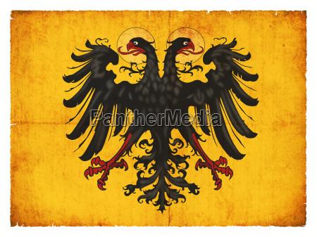grunge flagge heiliges roemisches reich deutscher