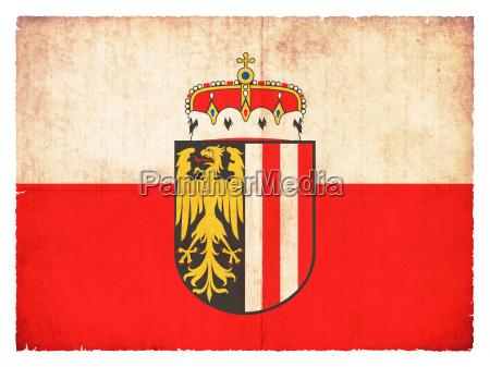 grunge flagge oberoesterreich OEsterreich