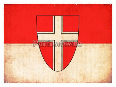 grunge flagge wien OEsterreich