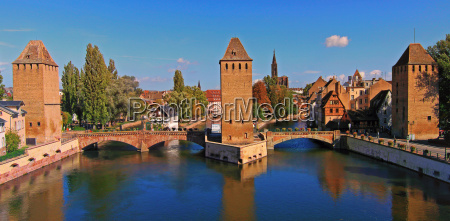 ponts couverts in strassburg