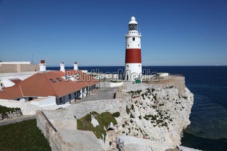 europa point leuchtturm in gibraltar