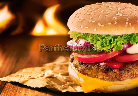 whopper kaese burger