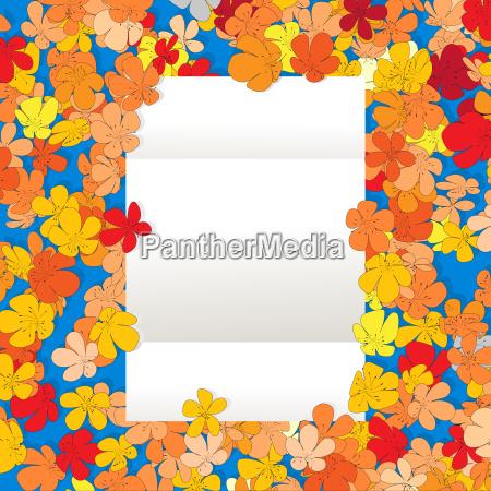 floral message cartoon