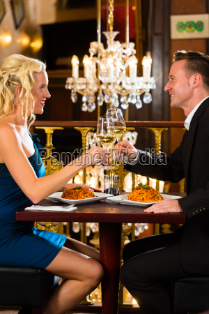 couple enjoying a romantic date at