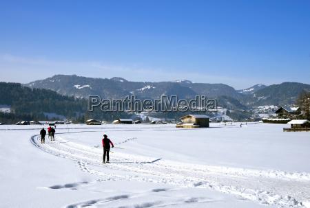 cross country skiing oberstdorf