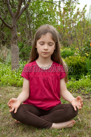 yoga mobile young younger blond girl