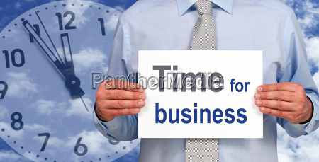 time for business
