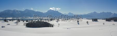 bayern landschaft alpen
