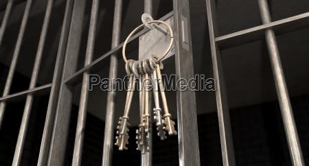 interno ferro acciaio galera carcere crimine