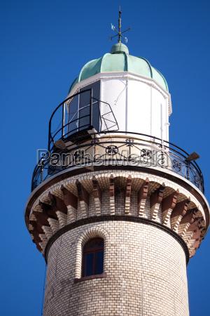 warnemuende lighthouse
