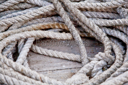 boating rope coil
