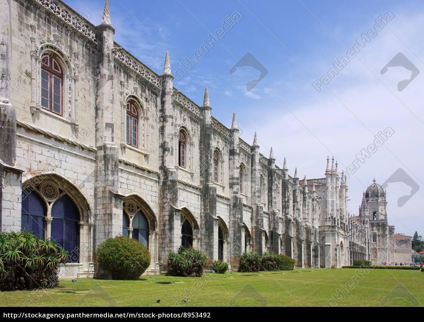 lissabon, hieronymus, kloster, -, lisbon, jeronimos - 8953492