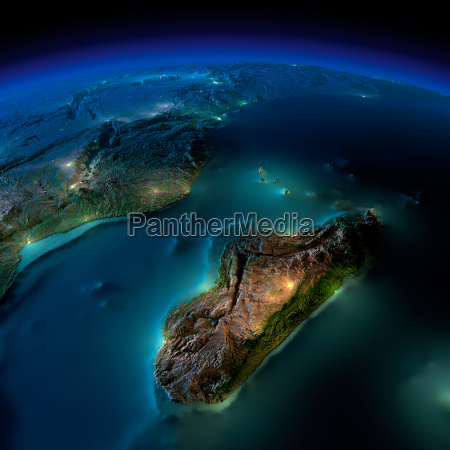 night earth a piece of africa