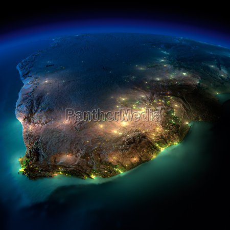 night earth south africa