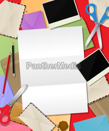 paper mail composition