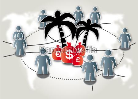steueroase offshore leaks briefkastenfirma schwarzgeld