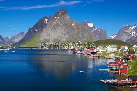 malerische norwegen im sommer