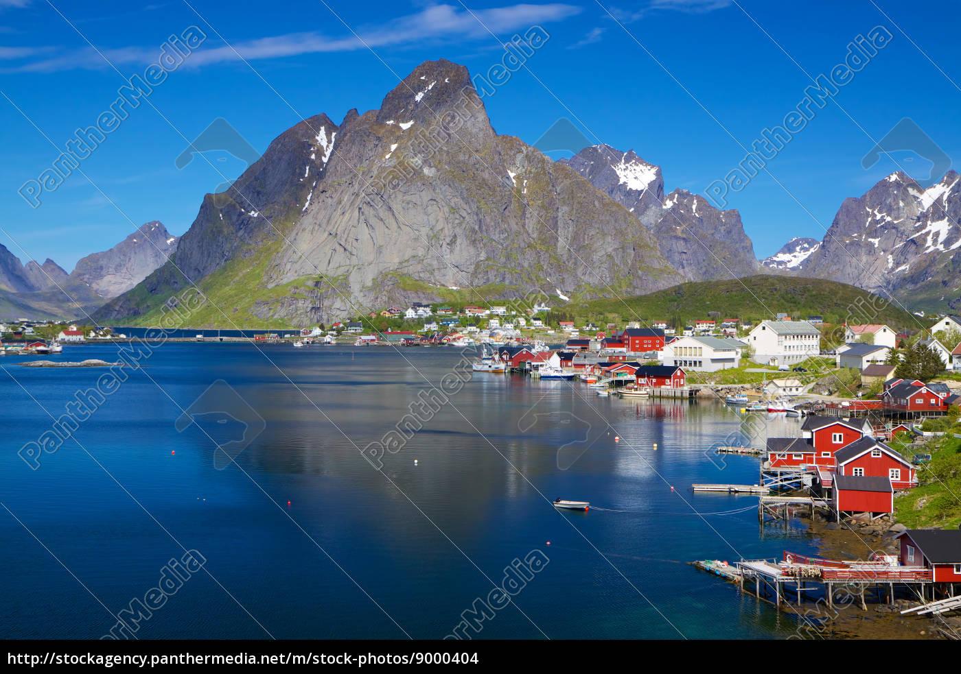 malerische, norwegen, im, sommer - 9000404