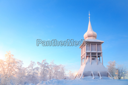 kiruna cathedral monument lapland sweden