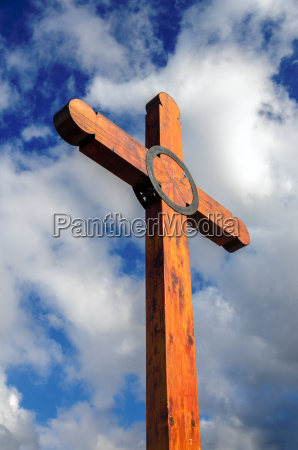 wooden cross