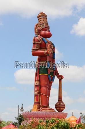 groesste hanuman statue ausserhalb indien auf