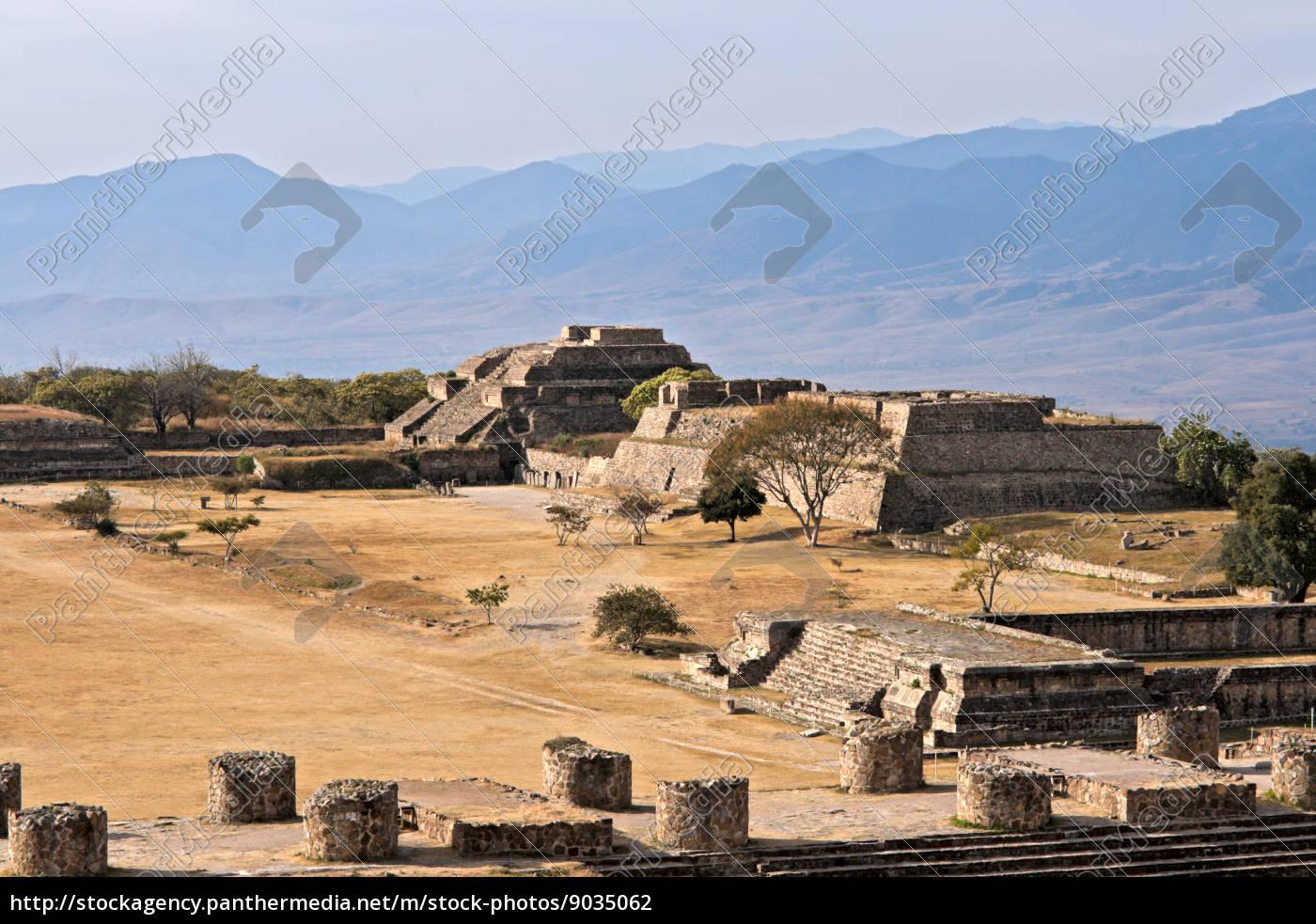alte, ruinen, auf, dem, plateau, monte - 9035062