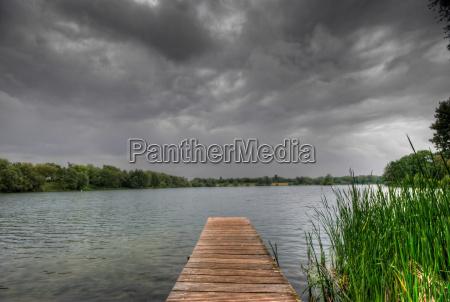 bridge fresh water lake inland water