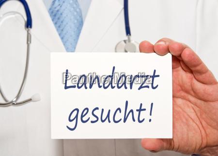 landarzt wanted