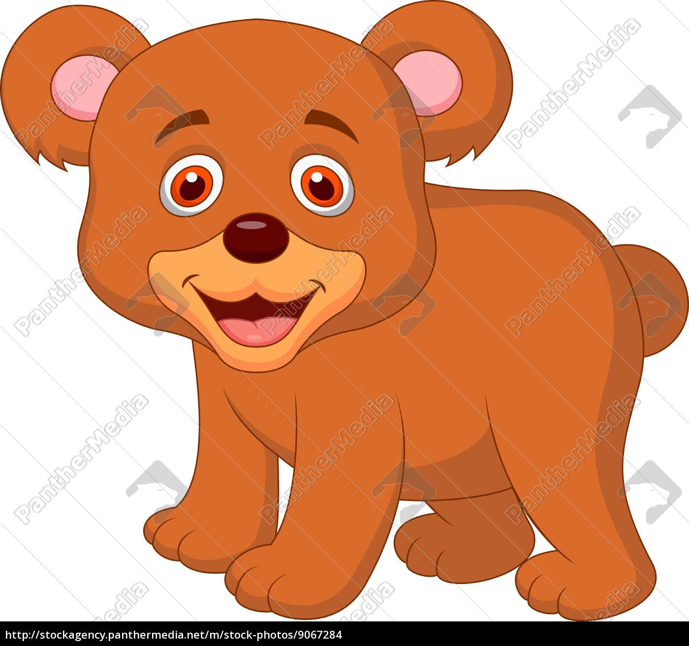 Lizenzfreies Foto 9067284 Cute Baby Bär Cartoon