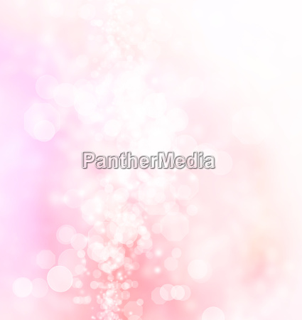 pink abstract bokeh lights background