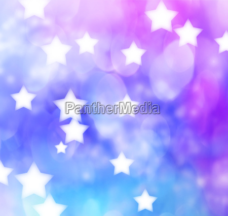 blue purple star lights background