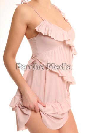 koerperfoto mit kleid