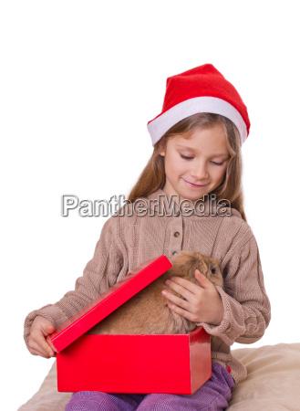 girl gift child children surprise long