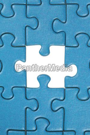 das letzte fehlende glied im puzzle
