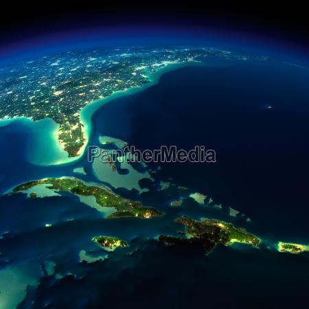 night earth bermuda triangle area