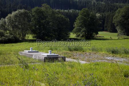 fassung wasser wasserschutz im wasserschutzgebiet