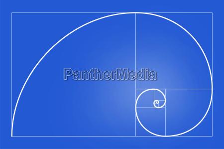 kunst komposition wissenschaft golden spirale balance