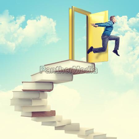 success stair