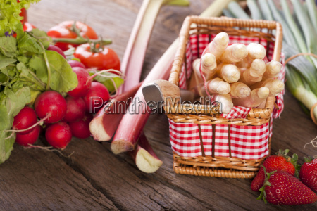 fruits and vegetables of the season