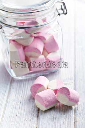suessen marshmallows in glas