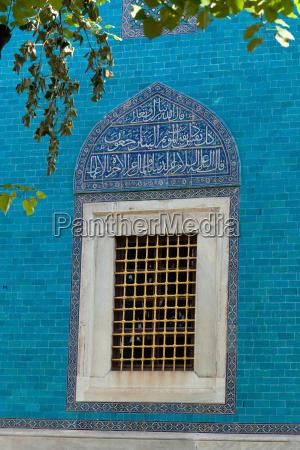 gruen tomb fassade exterior detail