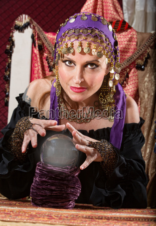 gorgeous fortune teller