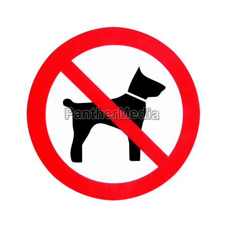keine hunde erlaubt