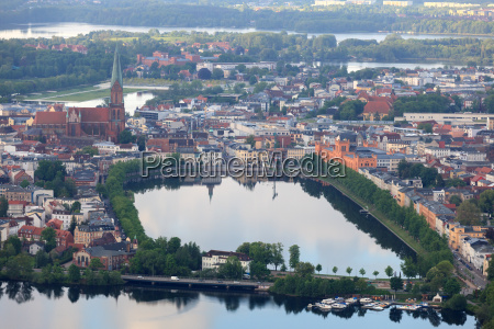 schwerin aerial view of the