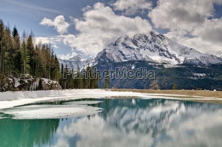 berchtesgaden berge watzmann nationalpark berchtesgaden wolkenstimmung