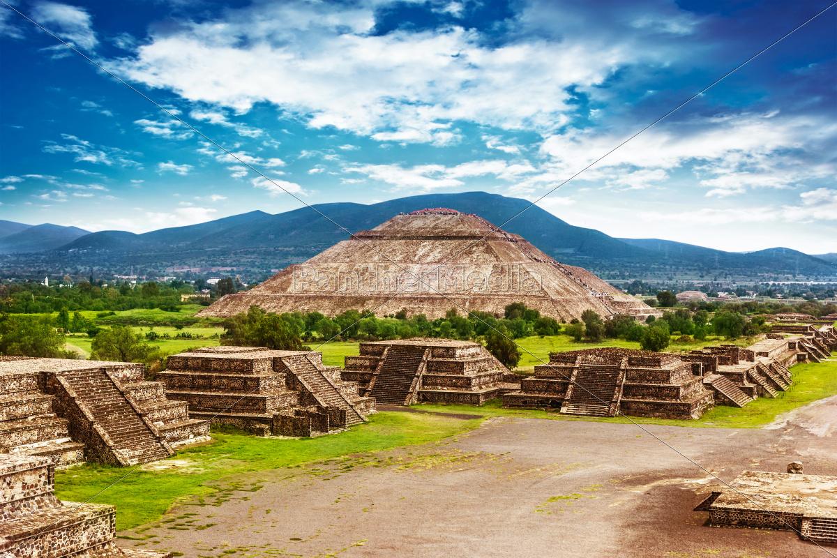 pyramiden, von, mexiko - 9325474