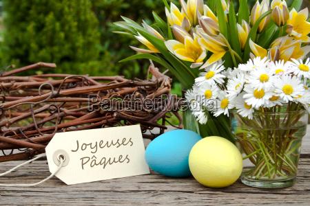 easter easter eggs easter card green
