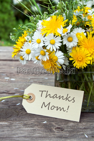mom mother yellow thank you thank